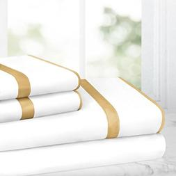 Egyptian Luxury Bed Sheet Set – 1500 Hotel Collection w/ B