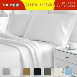 Egyptian Comfort 1800 Count Ultimate 4 6 Piece Bed Sheet Set