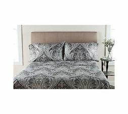 Elite Home Products, Inc. Crystal Palace Paisley Deep Pocket