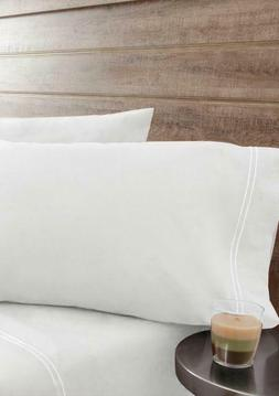 ELITE HOME Queen Percale Sheet Set