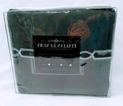Italian Luxury Embroidered Full Sheet Set Fretwork