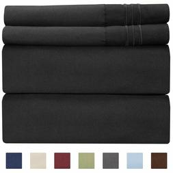 Cgk Unlimited Twin Size Sheet Set - 4 Piece Set - Hotel Luxu