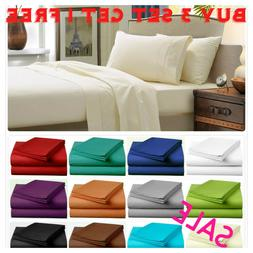 Fitted Bed Sets Flat Sheets 1900 Series 14 Deep Pocket Wrink