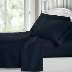 Fitted Sheet Brushed Ultra Comfortable Luxury Soft Microfibe