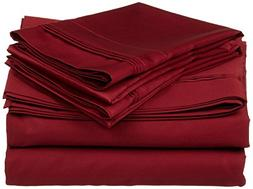 Heavy Weight Egyptian Cotton, Hotel Classic Burgundy Solid 1