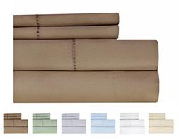 Weavely Hemstitch Bedsheet 500 Thread Count 100% Cotton Quee