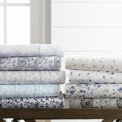 Home Collection  Premium 4 Piece Printed Bed Sheet Set - 11