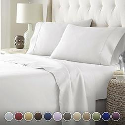Hotel Luxury Bed Sheets Set-Top Quality Softest Bedding 1800