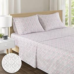 100% Hypoallergenic Cotton Sheets Set - Ultra Soft Medallion