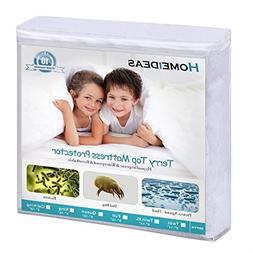 hypoallergenic mattress protector waterproof fitted
