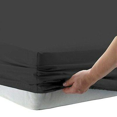 1 fitted sheet only 100 percent cotton
