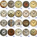 """15"""" Large Vintage Wooden Wall Clock Shabby Chic Rustic Home"""
