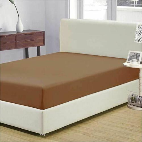 Mellanni 1800 Collection Fitted Sheet Fade, Stain Resistant