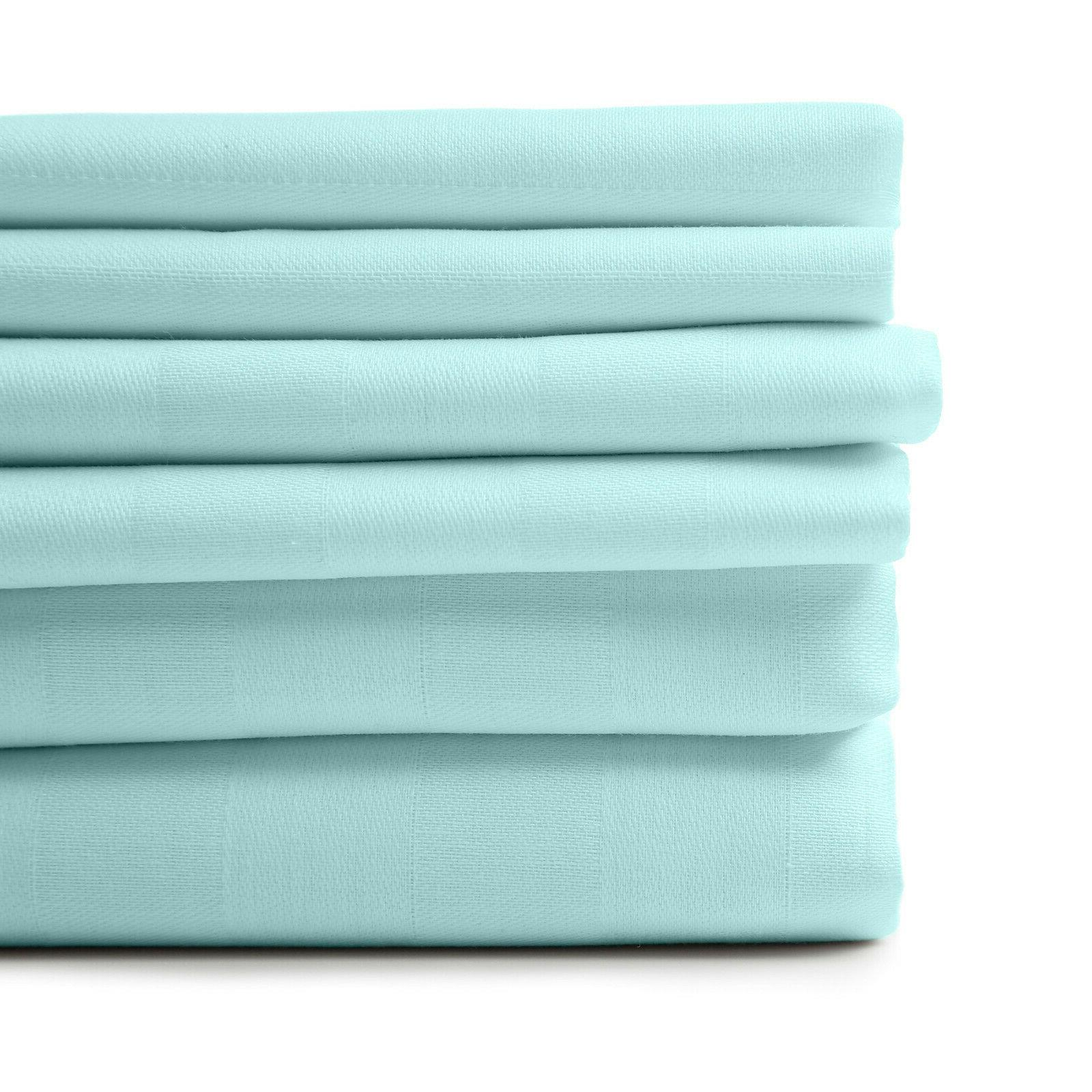 1800 count 6 piece egyptian cotton feel
