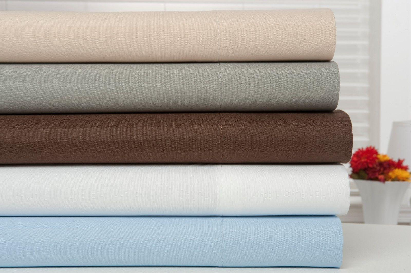 1800 Count Bamboo Egyptian Cotton Comfort Bed Set Pocket