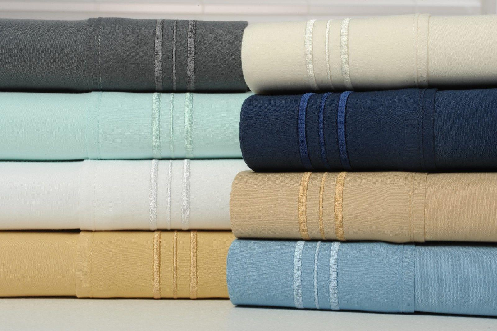 1800 Bamboo Cotton Comfort Extra Bed Pocket