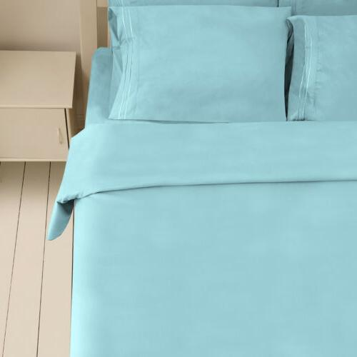 4/6 Piece Set Queen Full Bed Fitted Sheet