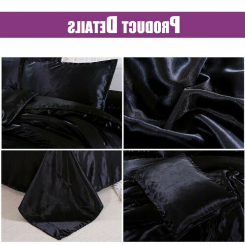 4 PCS Blend Bedding Sheets Cover King