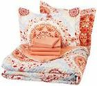 AmazonBasics 7-Piece Bed-In-A-Bag Full/Queen Comforter Sheet
