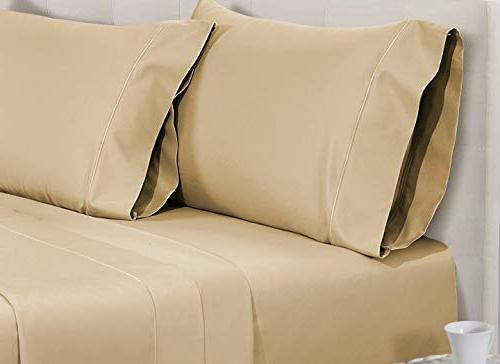 CHATEAU HOME COLLECTION 800-Thread-Count Egyptian Deep Sateen Sheet