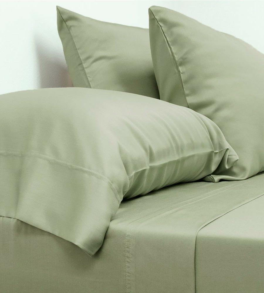 NEW Cariloha Classic Bamboo Bed Sheets - Queen Size - Sage
