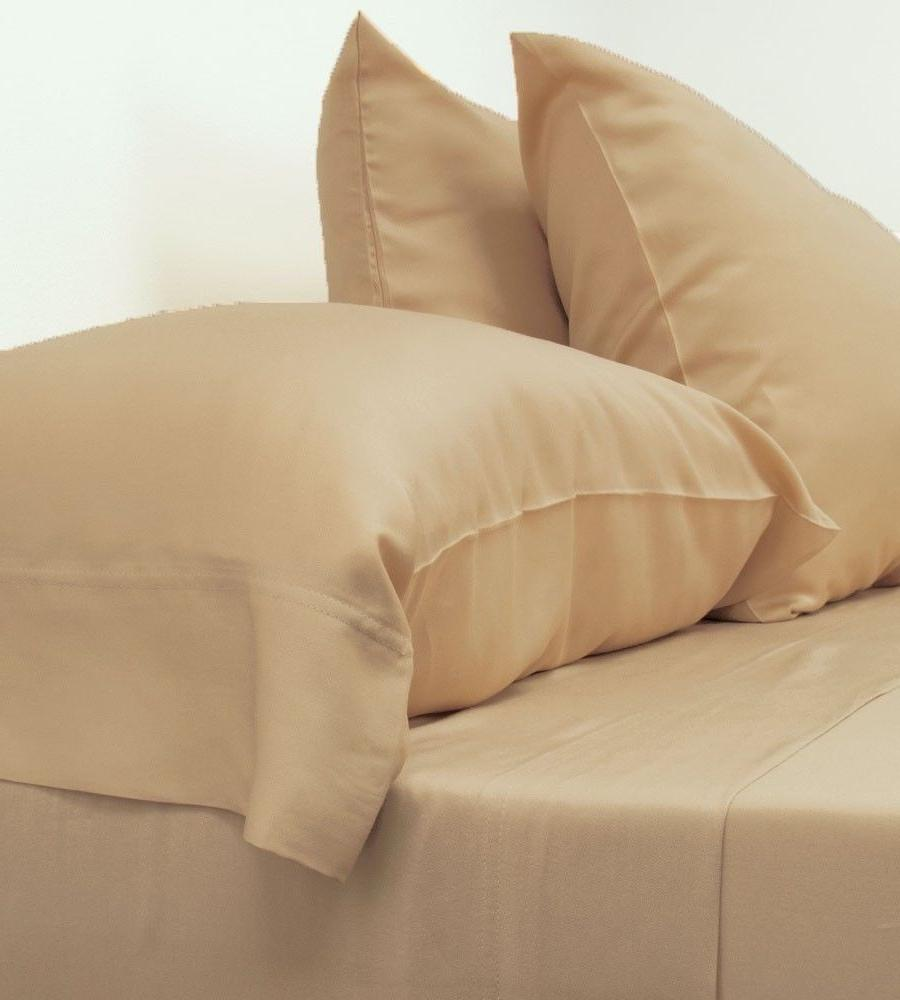 NEW Cariloha Classic Bamboo Bed Sheets - Queen Size - Sandy