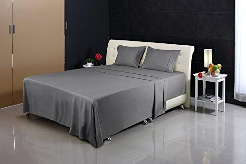 Utopia Bed Sheet Set - Microfiber Wrinkle Fade and Stain Set