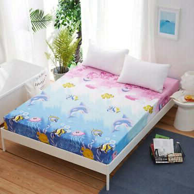 Floral Sheet Twin Bed Pad