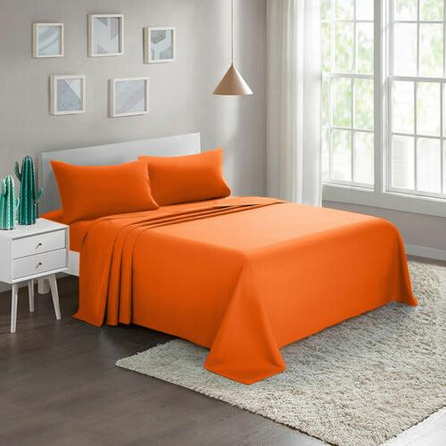 bed sheet set 4 piece twin full