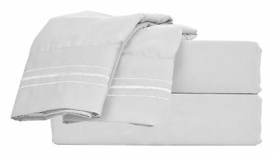 Bed Set Easy-Clean Soft Twin