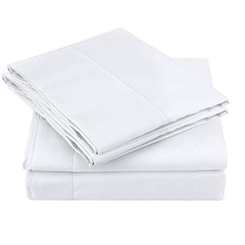 HOMEIDEAS Bed Sheets Soft Brushed Bedding Sheets - Hypoallergenic, Wrinkle Fade Resistant 4 Piece