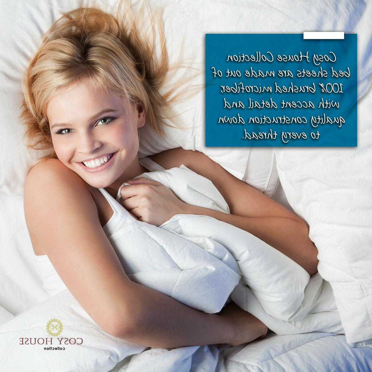 Cosy Collection Sheets Set 1500 Bedding