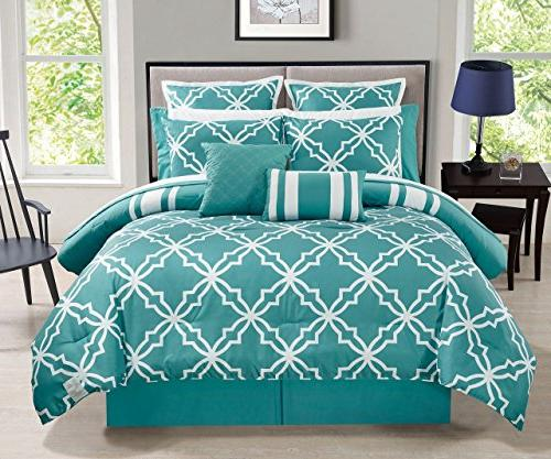 12 Comforter Set with Sheets Queen