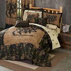 Browning 3D Comforter Set with Sheet and Curtain Option~~ FR