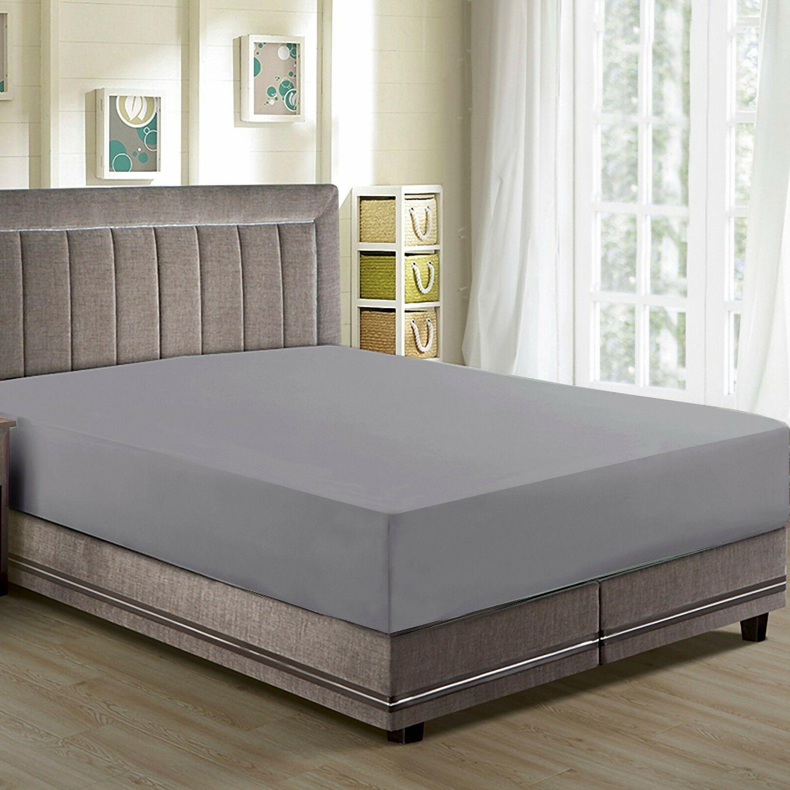 CC&DD- Fitted Sheets, Premier 1800 Microfiber ,Luxury Super