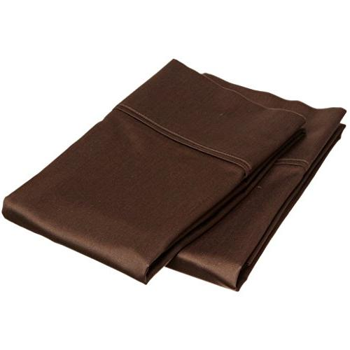 "aashirainwear Chocolate Size Soft PCs Bed 15"" Deep Round Egyptian 600-Thread-Count Aashi"