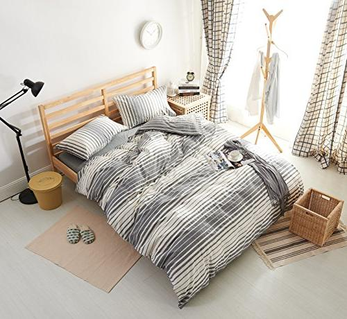 classic chambray bedding washed cotton