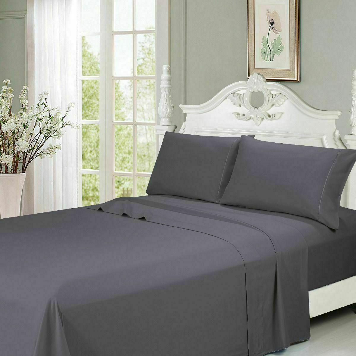 Egyptian Series Piece Bed Sheet Pocket Sheets