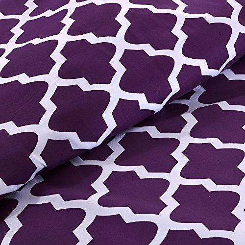 Egyptian Luxury Pattern Bed Set 1800 Bedding - Fade, Resistant - Hypoallergenic - Sheets