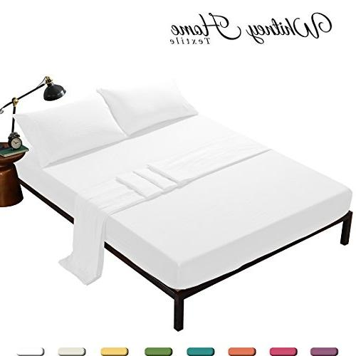 egyptian stone washed microfiber bed