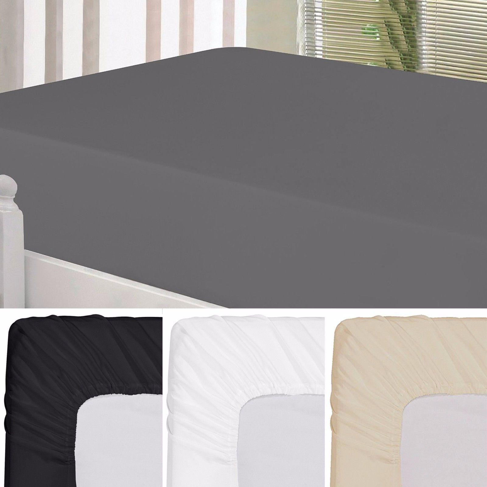 Fitted Sheet Brushed Ultra Comfortable Luxury By Utopia Bedding