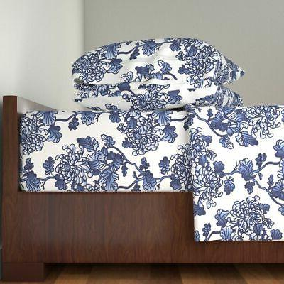 floral blue peonies spring kitchen home 100