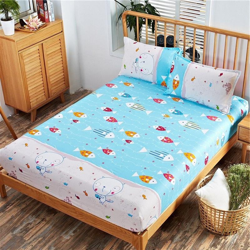 Floral Fitted <font><b>Sheet</b></font> <font><b>Deep</b></font> , Breathable, Extra Soft and Comfortable , and