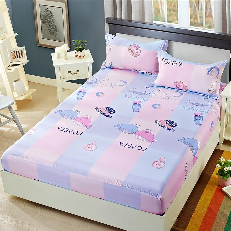 Floral Fitted <font><b>Sheet</b></font> <font><b>Queen</b></font> <font><b>Deep</b></font> <font><b>Pocket</b></font> , Extra and Comfortable , Wrinkle, and Abrasion