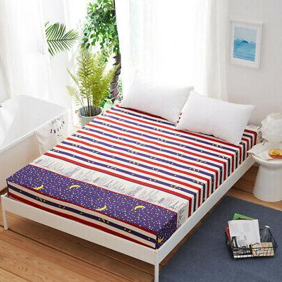 Floral Twin Full Bed Cover Pad