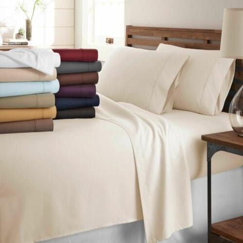 full King Size Soft Sheets 6 Deep