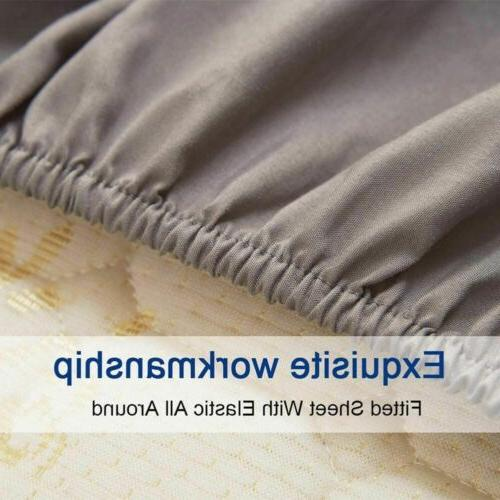 full Soft Sheets Comfort 6 Bed Sheet Set