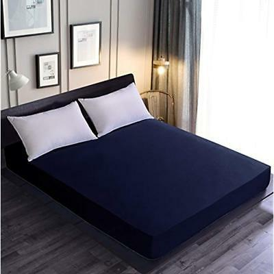 """Goza Bedding Microfiber Fitted Sheet Home """" Kitchen"""