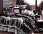 gray grey white wolf Cotton queen size Bed sets Duvet Quilt
