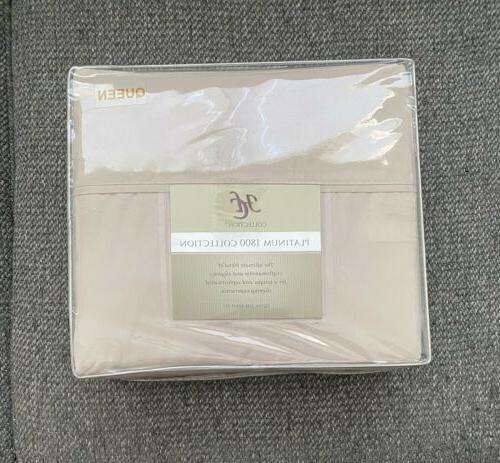 hc collection hotel luxury 4pc queen sheets